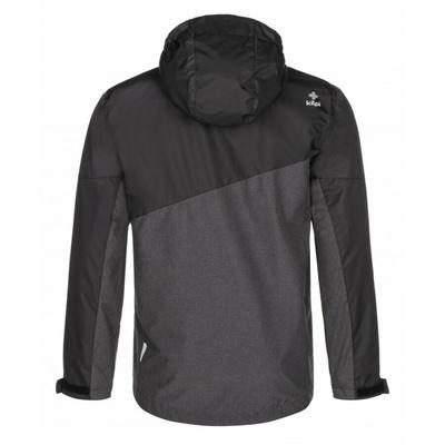 Pánská funkční outdoorová bunda Kilpi ORLETI-M tmavě šedá, Kilpi
