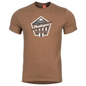 Pánské tričko PENTAGON® Victorious hnědé, Pentagon