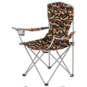 Skládací židle s opěrkami HIGHLANDER MORAY maskáč, Highlander