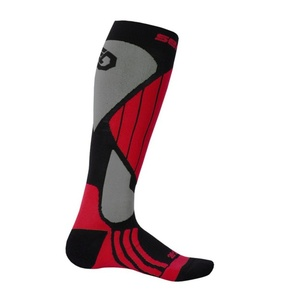 Ponožky Sensor Snow Pro černá/červená/šedá 14200065