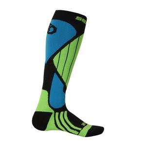 Ponožky Sensor Snow Pro černá/zelená/modrá 14200064, Sensor