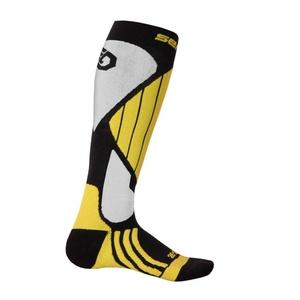 Ponožky Sensor Snow Pro černá/žlutá/bílá 14200066, Sensor