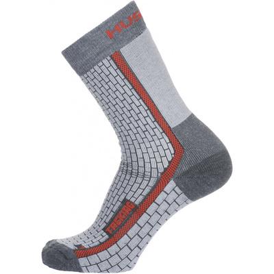 Ponožky Husky Treking-New šedá/červená, Husky