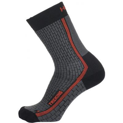 Ponožky Husky Treking-New šedá/oranžová, Husky