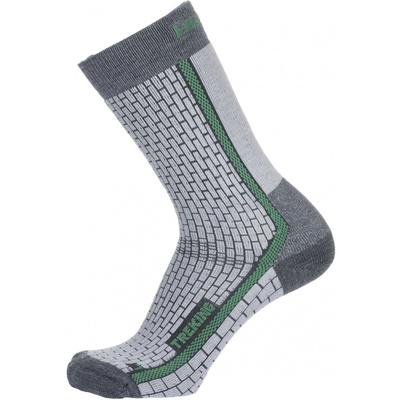 Ponožky Husky Treking-New šedá/zelená, Husky