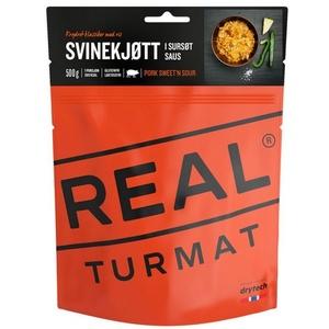 Real Turmat Vepřové s rýží ve sladkokyselé omáčce, 127 g