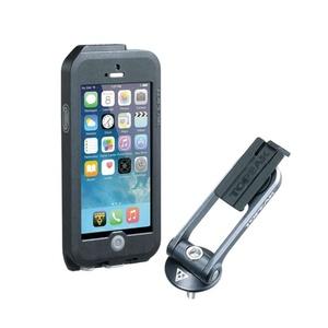 Obal Topeak Weatherproof RideCase pro iPhone 5 + SE černá/šedá TT9838BG, Topeak