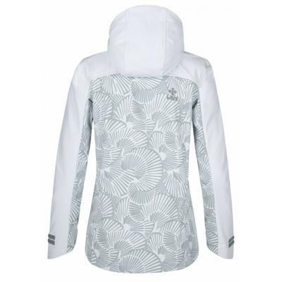 Dámská softshellová bunda Kilpi RAVIA-W bílá, Kilpi