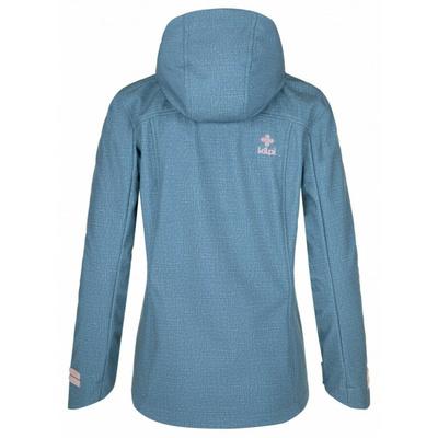 Dámská softshellová bunda Kilpi RAVIA-W modrá, Kilpi