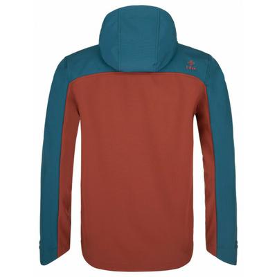 Pánská softshellová bunda Kilpi RAVIO-M tmavě červená, Kilpi