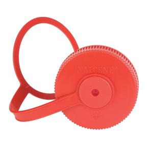 Náhradní víčko NALGENE Wide-Mouth 63mm red, Nalgene