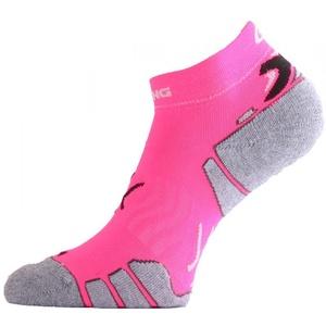 Ponožky Lasting RUN 450 růžová, Lasting