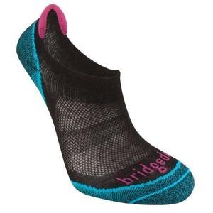 Ponožky Bridgedale Trailsport Ultra Light Cool Comfort No Show Women's black/845