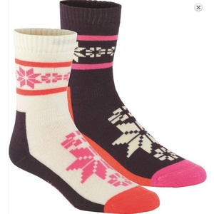 Ponožky Kari Traa RUSA WOOL SOCK 2PK Mau, Kari Traa