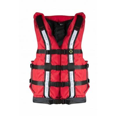 Záchranná vesta Hiko SAFETY RENT PFD červená