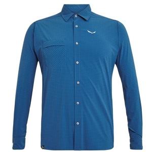 Košile Salewa MINICHECK DRY M L/S SHIRT 26967-8960, Salewa