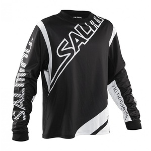 Brankářský dres Salming Phoenix Goalie Jsy JUNIOR Black/White, Salming