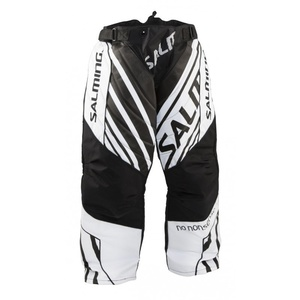 Brankářské kalhoty Salming Phoenix Goalie Pant SR Black/White, Salming