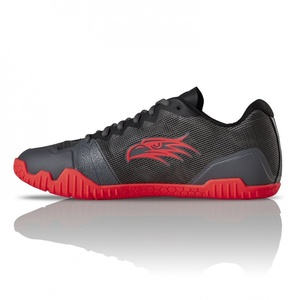 Boty Salming Hawk Shoe Men GunMetal/Red, Salming