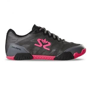 Boty Salming Hawk Shoe Women GunMetal/Pink, Salming