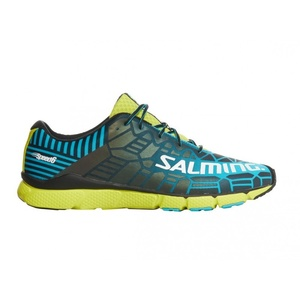 Boty Salming Speed 6 Men Blue/Lime, Salming