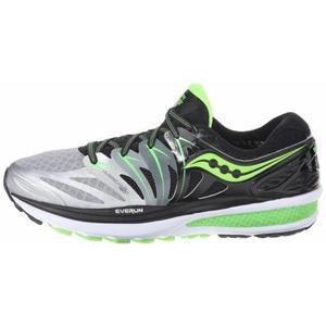 Pánské běžecké boty Saucony Hurricane ISO 2 Black/Silver/Slime, Saucony