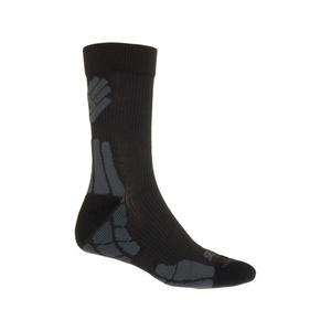 Ponožky Sensor Hiking New Merino Wool černá/šedá 15200052