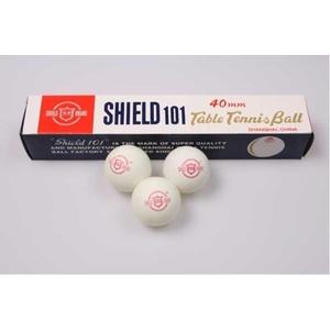 Míčky na stolní tenis SHIELD 6ks, Shield