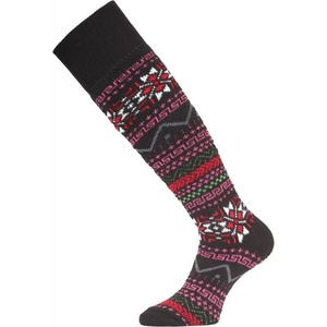 Lyžařské ponožky Lasting SKW 903 černá, Lasting