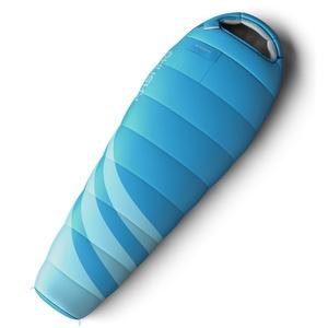 Set spací pytel Husky Ladies Majesty -10°C modrý + Karimatka Husky Akord 1,8 modrá Zdarma, Husky