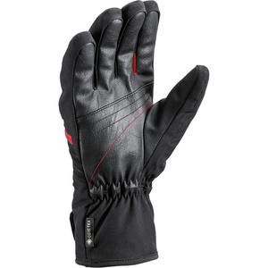 Lyžařské rukavice LEKI Spox GTX black/red, Leki