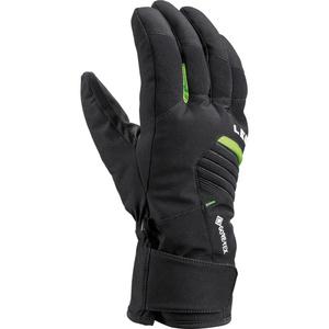 Lyžařské rukavice LEKI Spox GTX black/lime, Leki