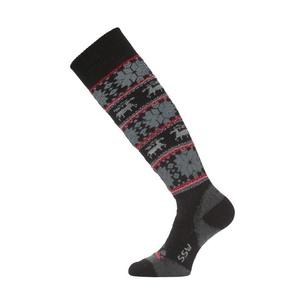 Lyžařské ponožky Lasting SSW 903 černá, Lasting