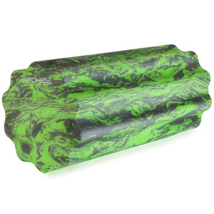 Masážní válec Spokey SOFT ROLL zeleno-šedý, Spokey