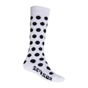 Ponožky Sensor Thermosnow Dots bílé 15200064, Sensor