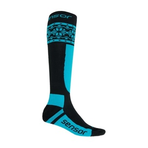 Ponožky Sensor THERMOSNOW NORWAY černá/modrá 17200089, Sensor