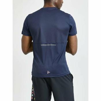 Pánské triko CRAFT Core Charge 1910664-396000 tmavě modrá, Craft
