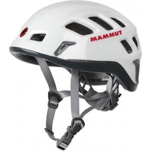 Horolezecká helma Mammut Rock Rider white-smoke velikost 1, Mammut