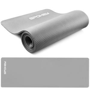 Podložka na cvičení Spokey SOFTMAT šedá 1,5 cm  , Spokey