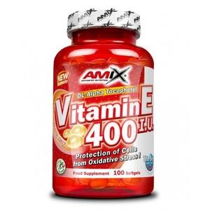 Amix Vitamin E 400 IU 100 kapslí