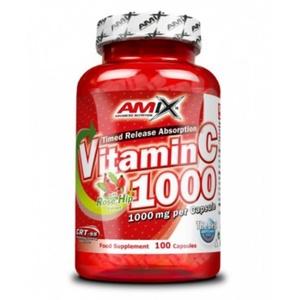 Amix Vitamin C 1000mg, 100 kapslí, Amix