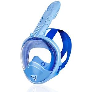 Dětská celoobličejová maska Spokey ZUMI JR modrá, Spokey