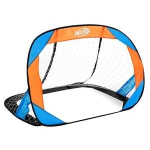 Samorozkládací fotbalová branka Spokey HASBRO BUCKLER NERF 2 ks modro-oranžová, Spokey