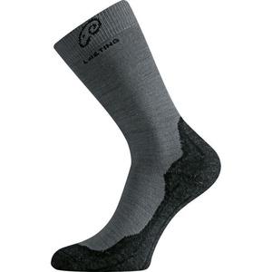 Ponožky Lasting WHI 809 šedé vlněné, Lasting