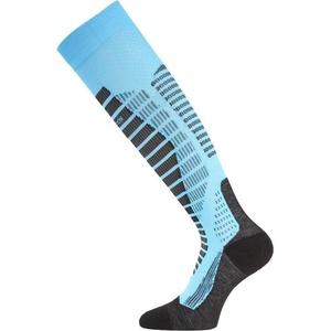 Lyžařské ponožky Lasting WRO 509 modré, Lasting