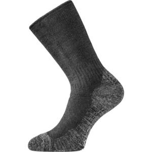 Ponožky Lasting WSM-909 černé vlněné, Lasting
