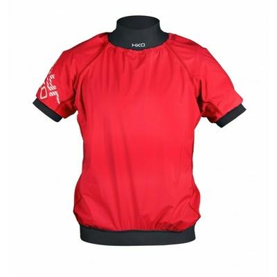 Vodácká bunda Hiko ZEPHYR krátký rukáv červená, Hiko sport