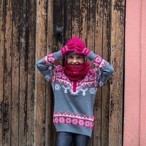 Dětské pletené Merino rukavice Kama RB203 114, Kama